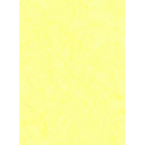 Anthology Batik 1401 1 Mottled Light Lemon Yellow Solid Great Background Fabric