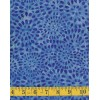 Wilmington Batavian Batik 22105-444 Blue Petalburst on a Lighter Blue Background