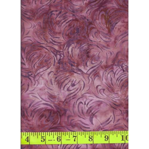 Anthology Batik 7105 Purple Gray Abstract Pattern On A