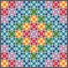 FREE Robert Kaufman Mosaic Courtyard Pattern