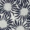 Fresh Water Designs FWDHOT-4020 Black Sunflowers on White