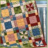 Happy Daze Pattern by Bits 'n Pieces - uses just 8 Fat Quarters