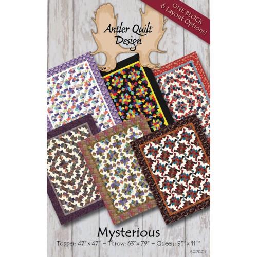 Mysterious Pattern by Antler Quilt Design - Jelly Roll & Scrap ... : antler quilt design - Adamdwight.com