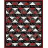 FREE Timeless Treasures Tonga Rose Tobasco Splash Pattern