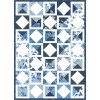 FREE Timeless Treasures True Blue Portuguese Cupboard Pattern