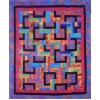 Organized Chaos pattern by Cozy Quilt Designs - Jelly Roll & Scrap Friendly