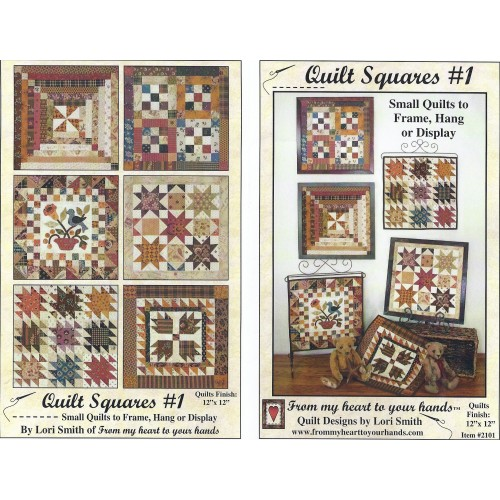 Lori Smith Quilt Squares 1 From My Heart To Your Hands