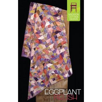 Eggplant Relish pattern by Madison Cottage Design - Fat Quarter Friendly!