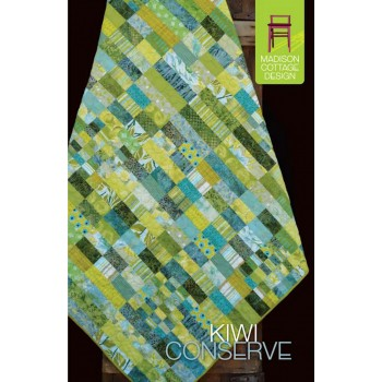 Kiwi Conserve pattern by Madison Cottage Design - Jelly Roll/Strip Friendly!