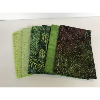 Batik Fat Quarter Club