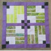 Strip Ribbons Mini Quilt Kit - Stripology Book must be purchased separately