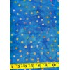 Batik Textiles 3808 Multi Colored Dots on Turquoise