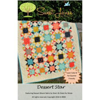Desert Star pattern by Sweet Jane's - Layer Cake & Fat Quarter Friendly