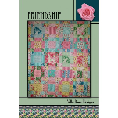 *NEW* QUILTING PATTERN CARD PENNY CANDY from Villa Rosa Designs