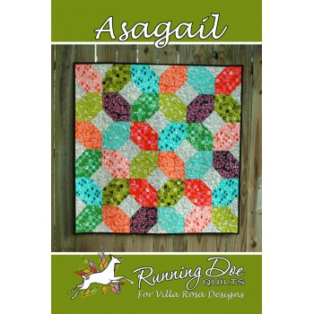 Asagail pattern card by Villa Rosa Designs - Fat Quarter Friendly