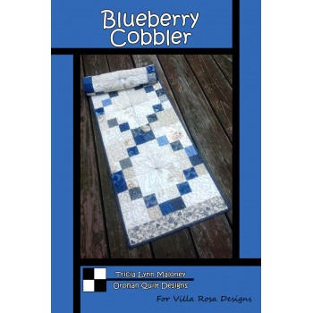 Blueberry Cobbler pattern card by Villa Rosa Designs - Mini Charms