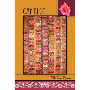 Camelot pattern card by Villa Rosa Designs - Jelly Roll & Fat Quarter Friendly Pattern