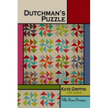 Dutchman's Puzzle pattern card by Villa Rosa Designs - Layer Cake or Scrap Friendly
