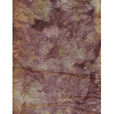 Anthology Batik 1124 Mottled Green, Mauve and Brown/Purple Solid