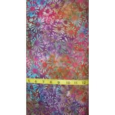 Wilmington Batik 22121-687 Multi Flower Field Batik
