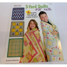 3 Yard Quilts For Kids - Fabric Cafe - 8 patterns