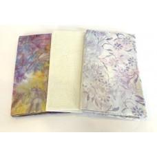 3 Yard Batik Bundle 3YD10 - Lavender & Cream Tones