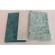 3 Yard Batik Bundle 3YD36 - Blue & Gray Tones