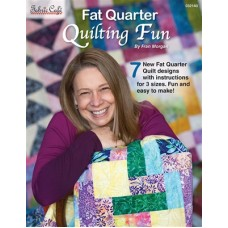 Fat Quarter Fun Quilts - Fabric Cafe - 7 patterns