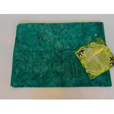 Batik Rayon Scarf by Island Batik - Green Leaf