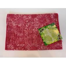 Batik Rayon Scarf by Island Batik - Pink Sunflowers