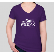 Batik Freak V-Neck T-Shirt