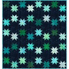 FREE Robert Kaufman Swirling Stars Pattern
