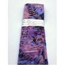 REMNANT - Benartex Batik - 09160-25 Pine Trees on Pink Purple - 16 Inches x WOF