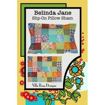 Belinda Jane Pillow Sham pattern by Villa Rosa Designs - Charm Pack Friendly Pattern