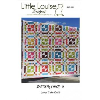 Butterfly Fancy's pattern by Little Louise Designs - Layer Cake/Scrap Friendly