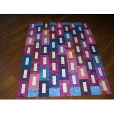 Cathedral pattern card by Villa Rosa Designs - Jelly Roll Friendly Pattern
