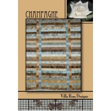 Champagne pattern card by Villa Rosa Designs - Jelly Roll Friendly Pattern
