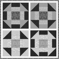 FREE Robert Kaufman Churn Dash Pattern