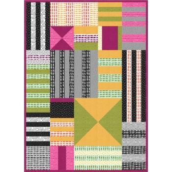 FREE Robert Kaufman Color Theory Pattern