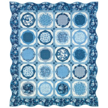 FREE Robert Kaufman China Plates Pattern
