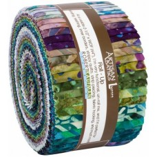 Robert Kaufman Modern Twist 2 1/2 Inch Strip Roll