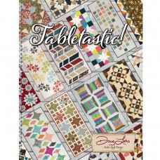 Tabletastic Book by Antler Quilt Design - 14 Table Runner & 6 Topper Designs!