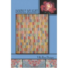 Double Delight pattern by Villa Rosa Designs - 6 Pack or Fat Quarter Friendly Pattern