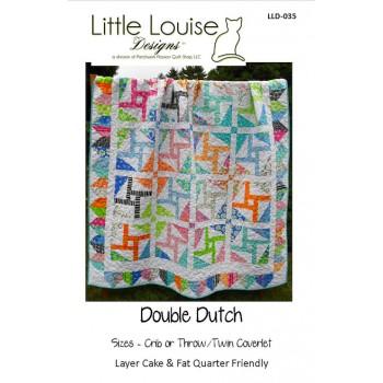 Double Dutch pattern by Little Louise Designs - Layer Cake/Fat Quarter Friendly