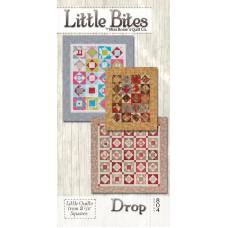 Little Bites Drop pattern (3 sizes) by Miss Rosie's Quilt Co. - Mini Charm/Scrap Friendly Pattern