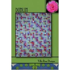 Dublin pattern card by Villa Rosa Designs - Jelly Roll or Fat Quarter Friendly pattern