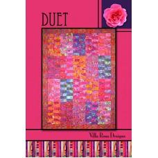 Duet pattern card by Villa Rosa Designs - Jelly Roll Friendly Pattern