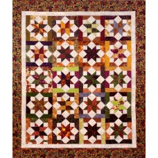 Equinox pattern by Cozy Quilt Designs - Jelly Roll & Scrap Friendly