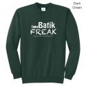 Batik Freak Core Fleece Crew Neck Sweatshirt