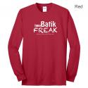 Batik Freak Long Sleeve Crew Neck Shirt